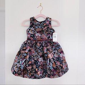 Pippa & Julie Butterfly Jacquard Dress